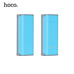 Внешнее ЗУ Power Bank HOCO B21 Tiny Concave 5200mAh голубое