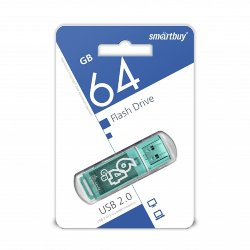 SmartBay USB 64GB Glossy series Green