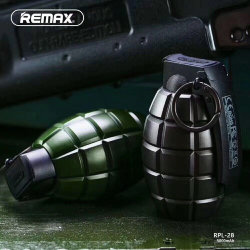 Внешнее ЗУ Power Bank REMAX Grenade 5000mAh RPL-28 зеленое