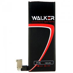 АКБ WALKER Apple iPhone 4G 1420 mAh