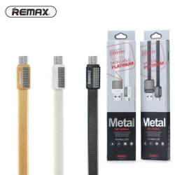 Кабель USB - MicroUSB REMAX Platinum RC-044m черный