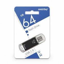 SmartBay USB 64GB V-Cut Black