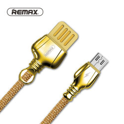 Кабель USB - MicroUSB REMAX King RC-063m золото