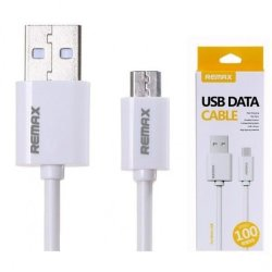 Кабель USB - MicroUSB REMAX Fast Charging RC-007m белый