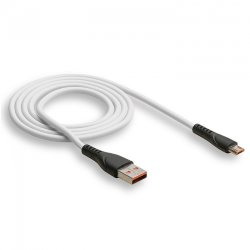 Кабель USB - MicroUSB WALKER C570 белый