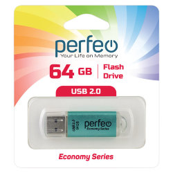Perfeo USB 64GB E01 Green