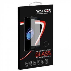 "Стекло 5D ""Full glue"" с рамкой для Apple iPhone 12 Pro Max черное, WALKER"