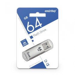 SmartBay USB 64GB V-Cut Silver USB 3.0
