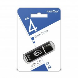 SmartBuy USB 4GB Glossy series black