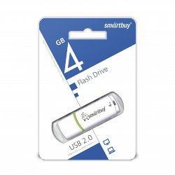 SmartBuy USB 4GB Crown White