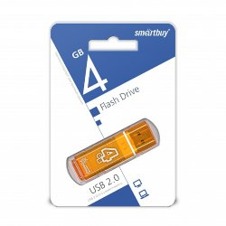 SmartBuy USB 4GB Glossy series orange