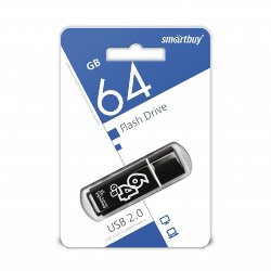 SmartBuy USB 64GB Glossy series Black